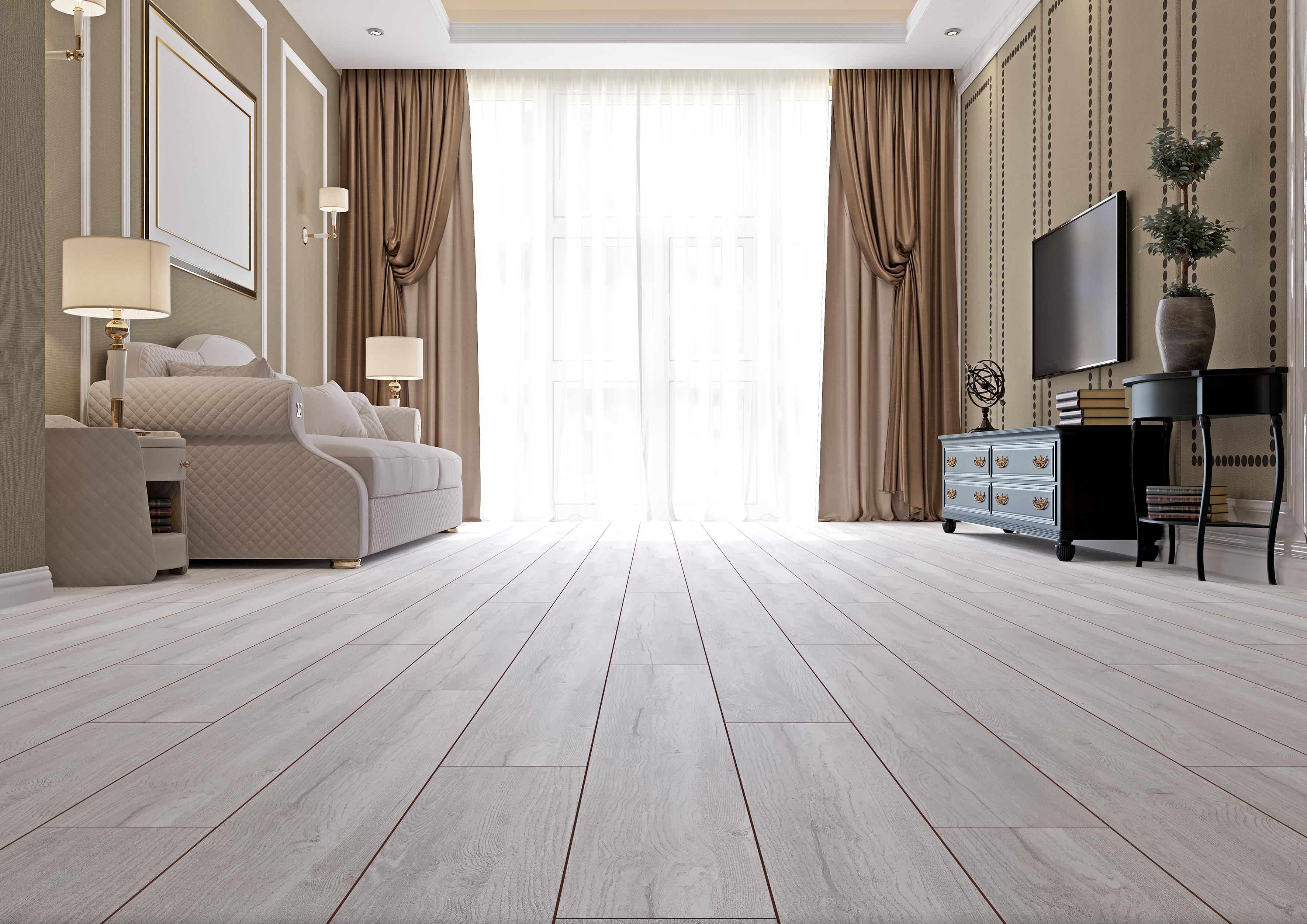 Swiss Krono Flooring Background