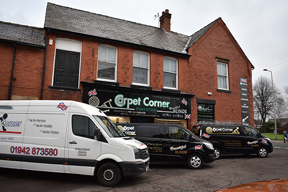 Carpet Corner Van Fleet