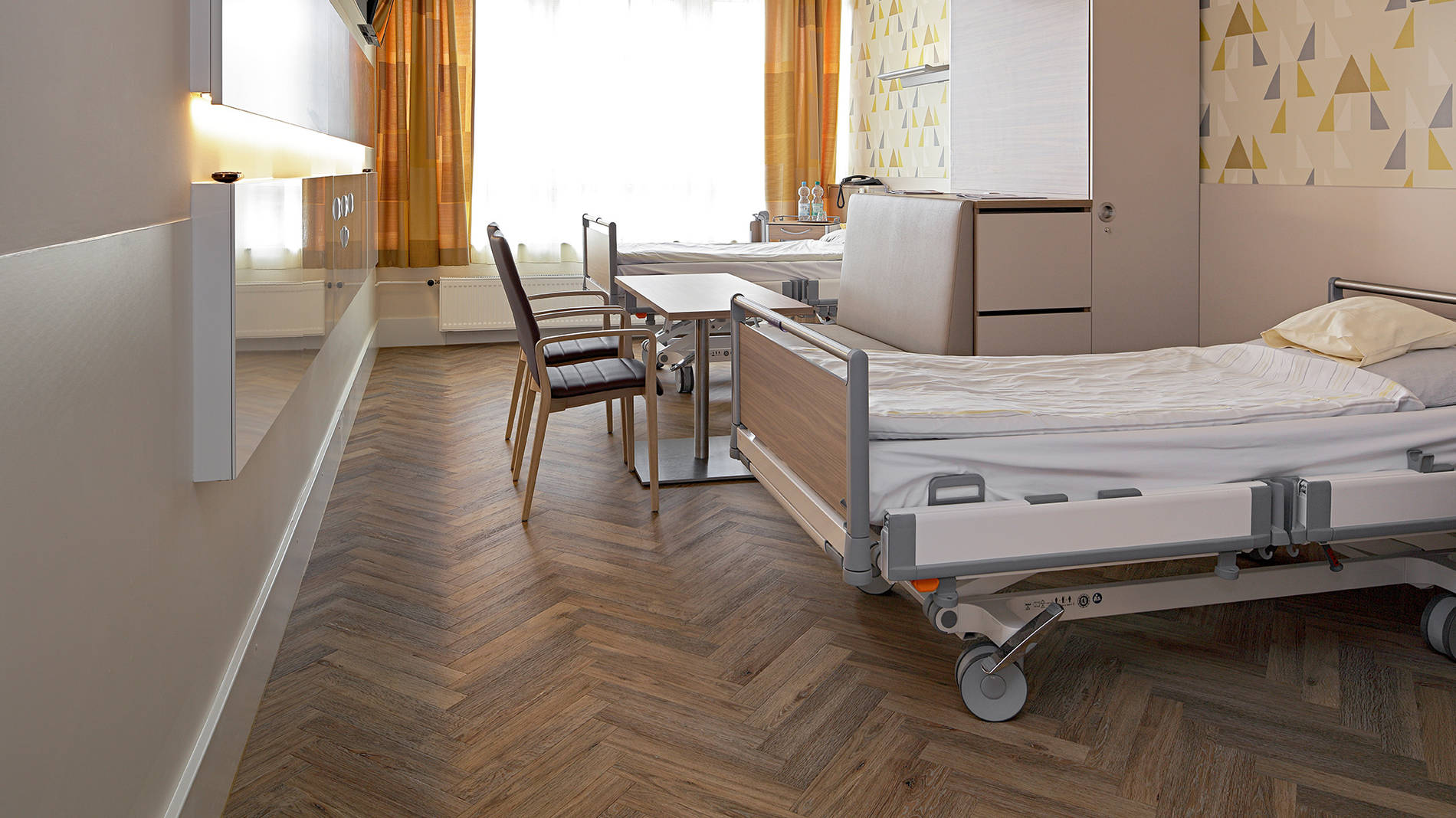 Flooring for Care Homes