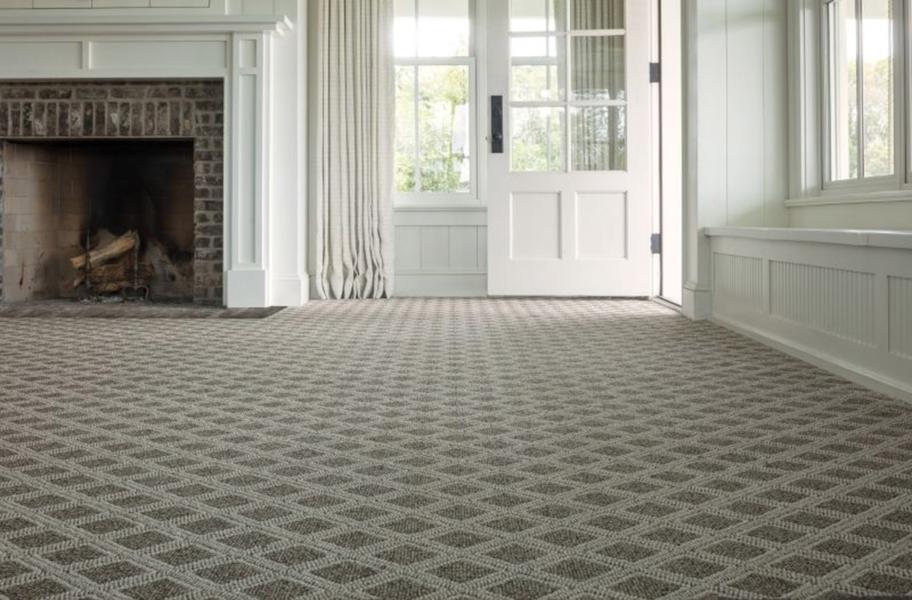 Patterned Carpet Feature